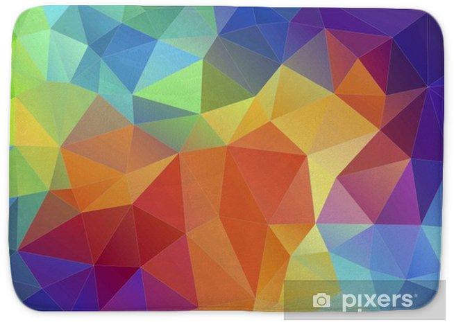 bath mats flat triangle multicolor geometric triangle wallpaper