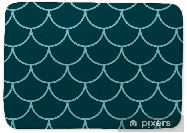 Mermaid tail seamless pattern. Fish skin texture. Tillable background for girl fabric, textile design, wrapping paper, swimwear or wallpaper.