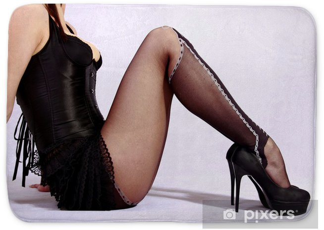 Garter Belt Heels Stockings