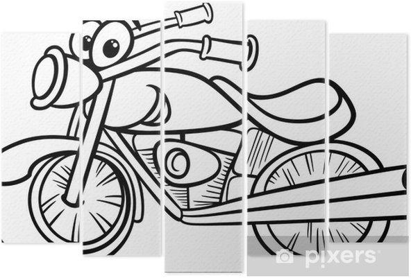 Bisiklet Ya Da Helikopter Boyama Beş Parçalı Pixers Haydi