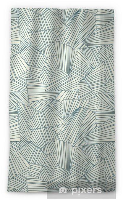 lattice pattern Blackout Window Curtain - Styles