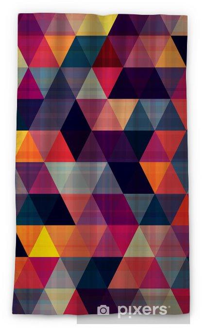 seamless triangle background Blackout Window Curtain - Geometry