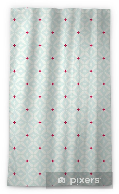 seamless vintage pattern Blackout Window Curtain - Graphic Resources
