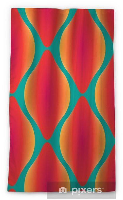 vector colorful abstract contemporary seamless geometric pattern Blackout Window Curtain - Graphic Resources