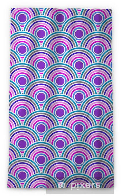 Violet colored fish squama Blackout Window Curtain - Graphic Resources