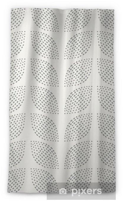 Blickdichter Fenstervorhang Nahtlose Muster. Handgemalt. Blume. Hintergrund-Design - Hintergründe