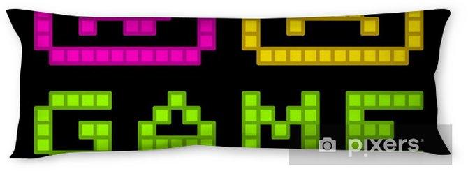 body-pillows-8-bit-pixel-art-retro-arcade-game-over-message-eps8-vector Pixel Art Game Over @koolgadgetz.com.info