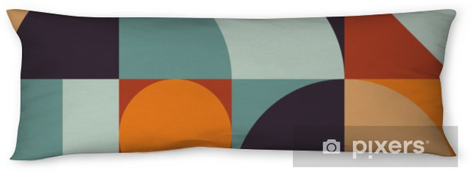 Abstract Geometry Pattern Graphic 12 Body Pillow - Graphic Resources