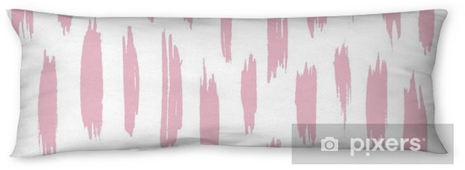 Abstract Hand Drawn Seamless Pattern Body Pillow - Graphic Resources