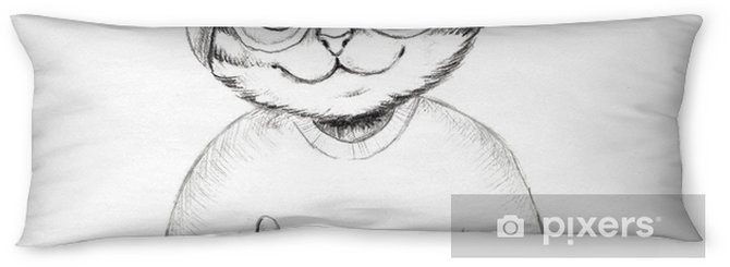 Cool cat Body Pillow - Animals