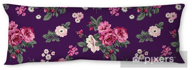 gorgeous roses seamless background Body Pillow - Themes