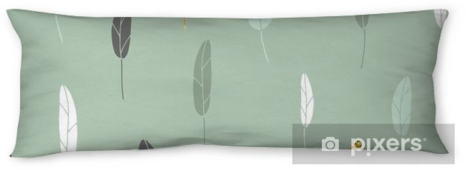 Leaf pattern. Body Pillow - Graphic Resources