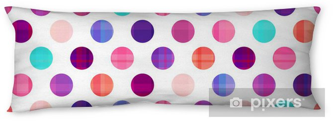 seamless circles background texture Body Pillow - Geometry