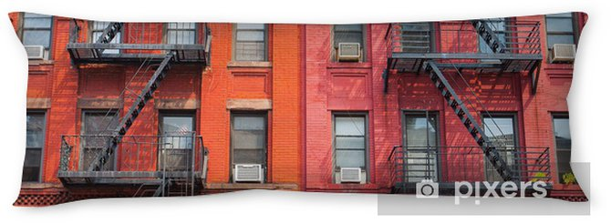 The detail of New York buildings Body Pillow - American Cities
