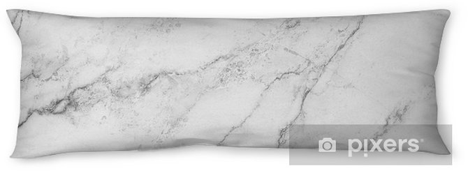 white background from marble stone texture Body Pillow - Graphic Resources