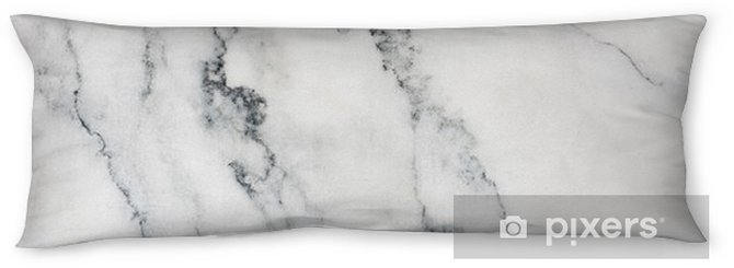White marble background and texture and scratches Body Pillow - Graphic Resources