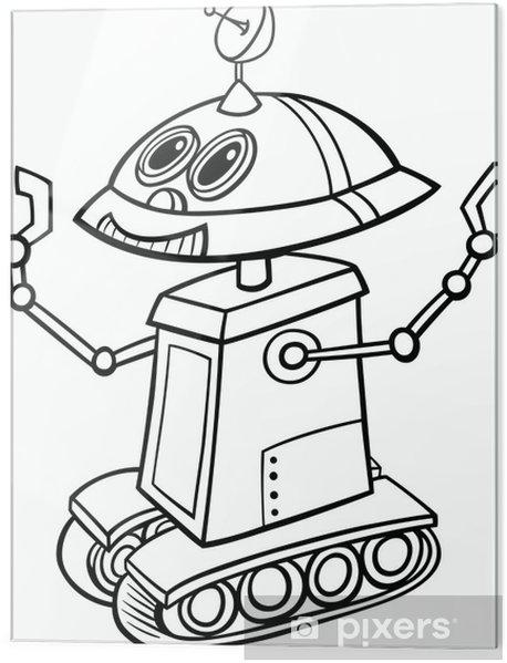 Robot Trenler Boyama Sayfasy Boyama Sayfasi
