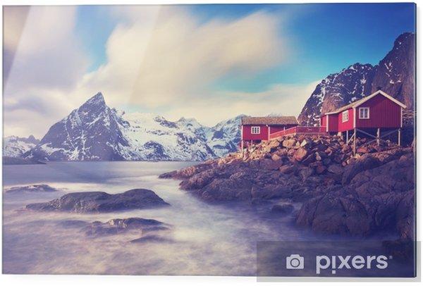 Cama baskı Lofoten im kış - Manzaralar