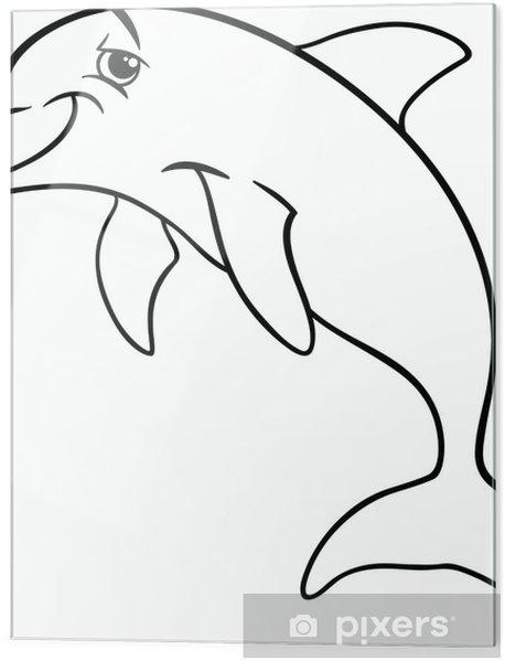 Yunus Hayvan Karikatür Boyama Kitabı Cama Baskı Pixers Haydi