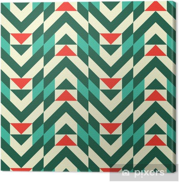 Canvas Abstract geometrisch patroon - Mode
