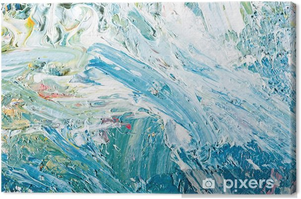 Canvas Abstract kunstwerk achtergrond schilderij - Hobby's en Vrije tijd