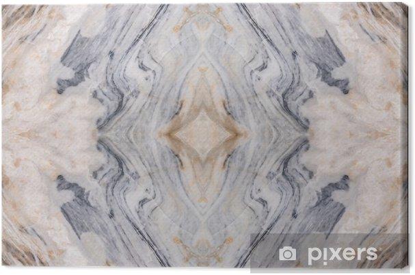 Canvas Abstract oppervlak marmer patroon vloer textuur achtergrond - Grafische Bronnen