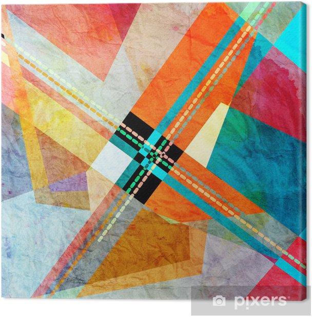 Canvas Abstracte achtergrond - Achtergrond