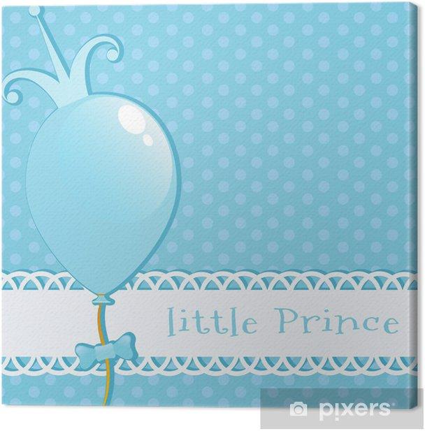 Canvas Achtergrond Kleine Prins - Achtergrond