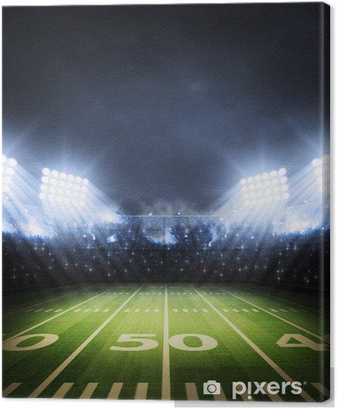 Canvas American Football stadion - American Football