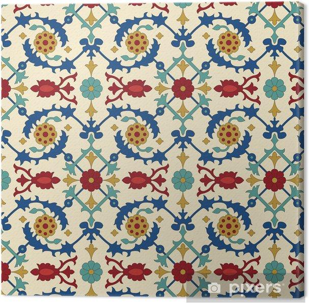 Canvas Arabisch naadloze patroon - Stijlen