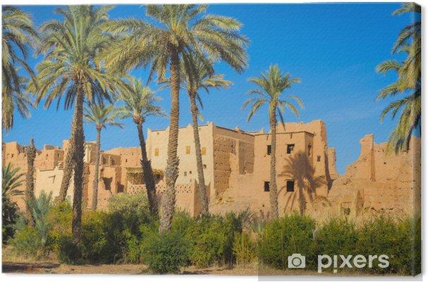 Canvas Architectuur van Marokko - Thema's