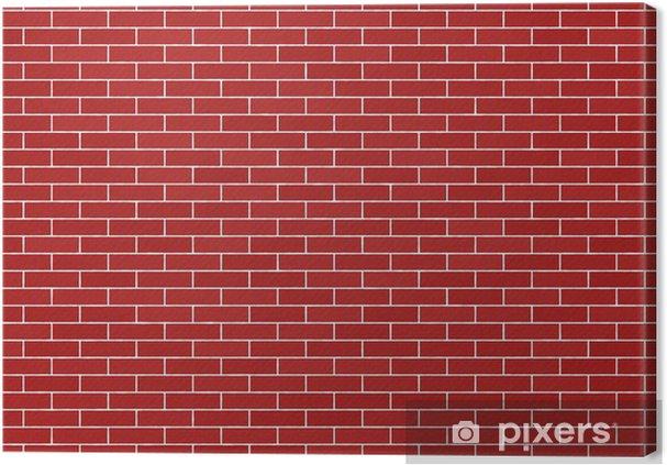 canvas bakstenen muur bakstenen muur • pixers® - we leven om te