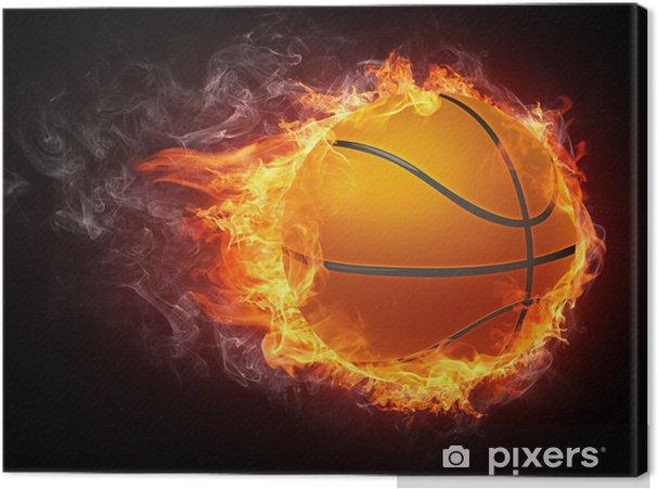 Canvas Basketbal bal - Basketbal