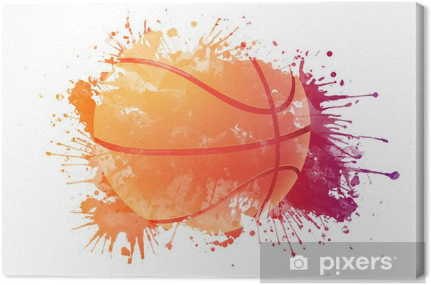 Canvas Basketbal bal - Basketbal