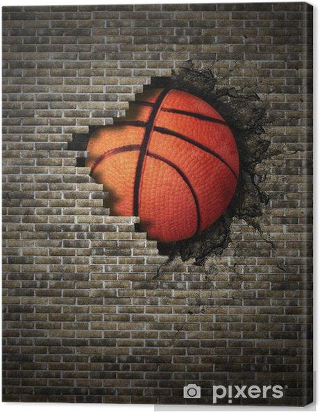 Canvas Basketball - Basketbal