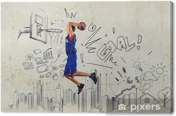 Canvas Basketballer - Thema's