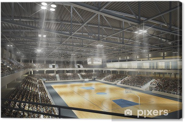Canvas Basketballhalle - Basketbal