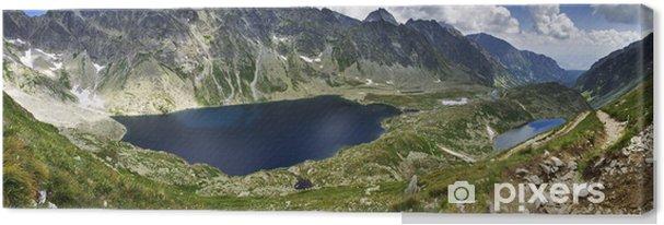 Canvas Bergen panorama - Hoge Tatra - Thema's