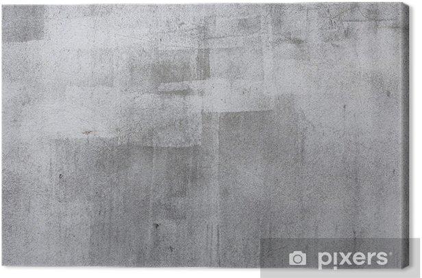 Canvas Betonnen muur textuur, ruw beton achtergrond - Thema's