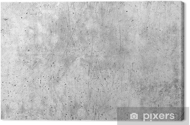 Canvas Betonnen muur textuur - Thema's