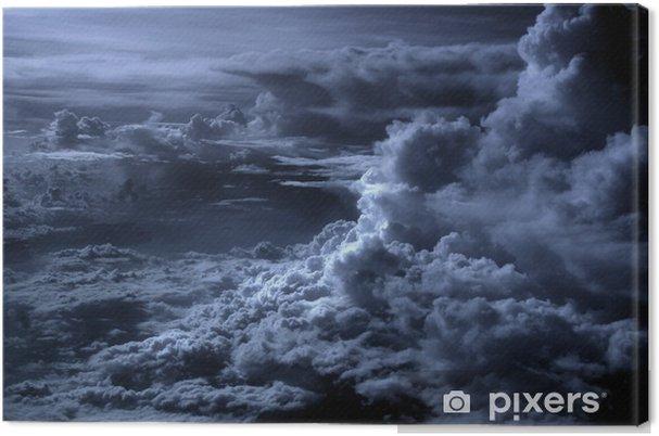 Canvas Blauwe wolken - Thema's