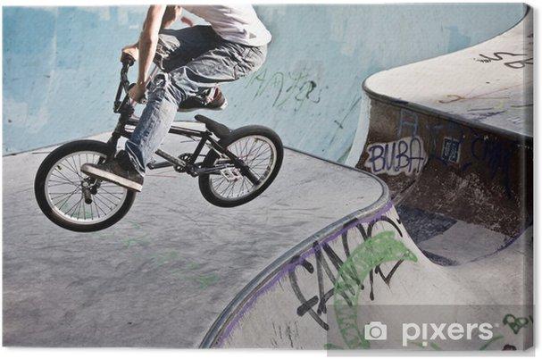 Canvas BMX im Skatepark - Wielersport