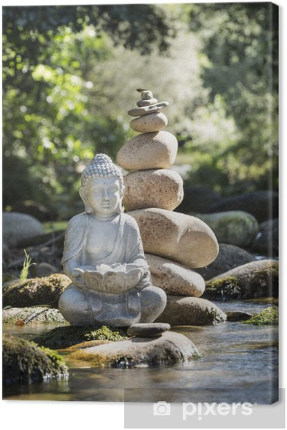 Canvas Boeddha en Welzijn - Thema's