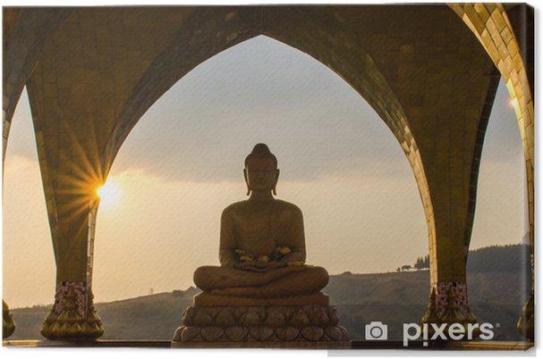 Canvas Boeddha in zon tijd - Stijlen