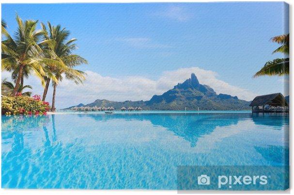 Canvas Bora Bora landschap - Thema's