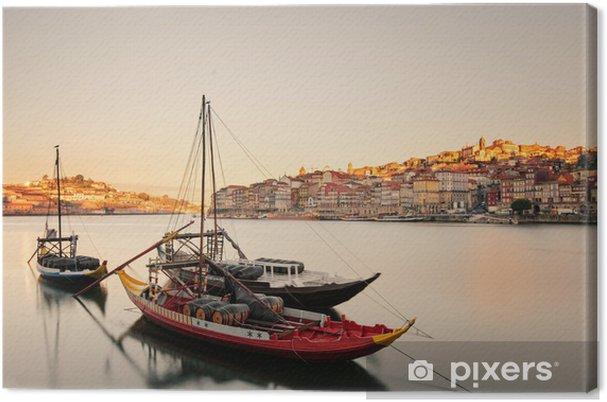 Canvas Boten in de Porto - Vakantie