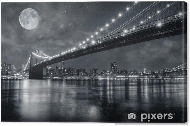 Canvas Brooklynbridge -