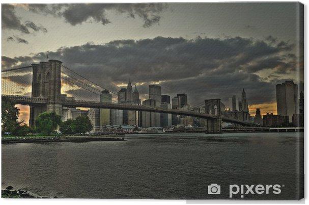 Canvas Brooklynbridge - Thema's