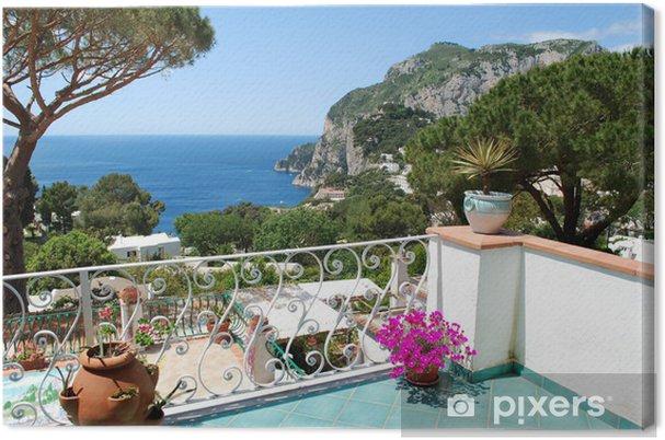 Canvas Capri, Balkon zicht - Europa