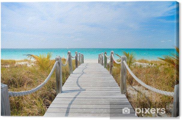 Canvas Caribische strand - Thema's